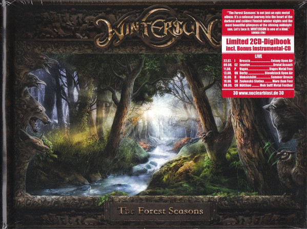 The Forest Seasons (Ed. Deluxe Book A5)